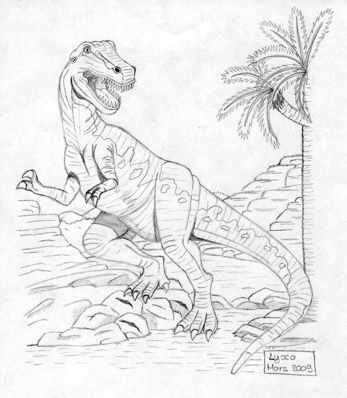 Dessin t rex lyxa graphisme - Dessin dinosaure t rex ...